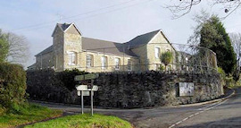 A view of Cardinham school from the road